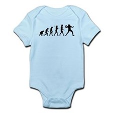 Quarterback Evolution of Foot Infant Bodysuit