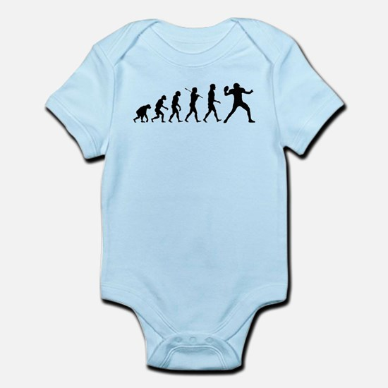 Quarterback Evolution of Foot Infant Bodysuit