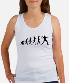 Quarterback Evolution of Foot Women's Tank Top