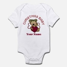 Personalized Christmas Baby Infant Bodysuit