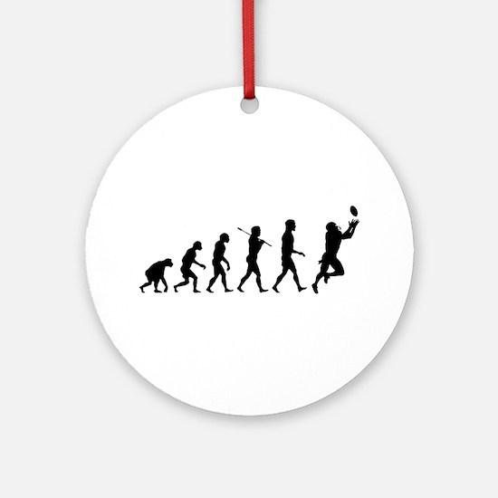 Evolution of Football Ornament (Round)