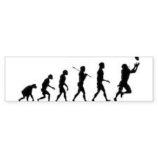 Evolution of Football Car Sticker