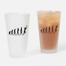 Evolution of Football Drinking Glass