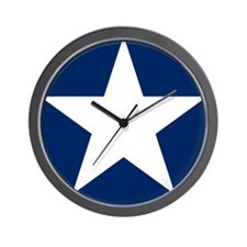 US Army Air Corps Roundel Wall Clock