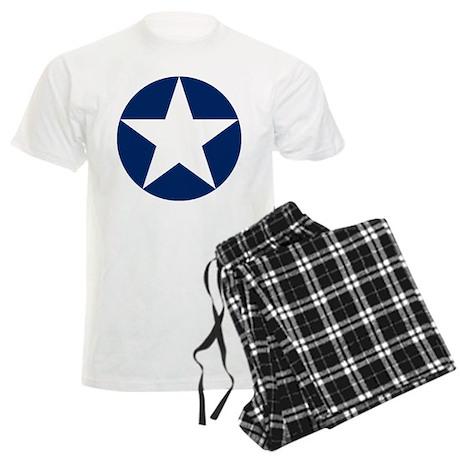 US Army Air Corps Roundel Men's Light Pajamas