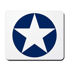 US Army Air Corps Roundel Mousepad