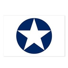 US Army Air Corps Roundel Postcards (Package of 8)