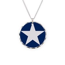 US Army Air Corps Roundel Necklace