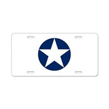 US Army Air Corps Roundel Aluminum License Plate