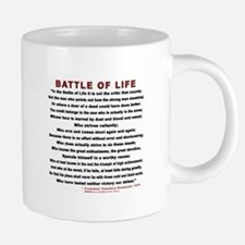 """Man in the Arena"" Mugs"