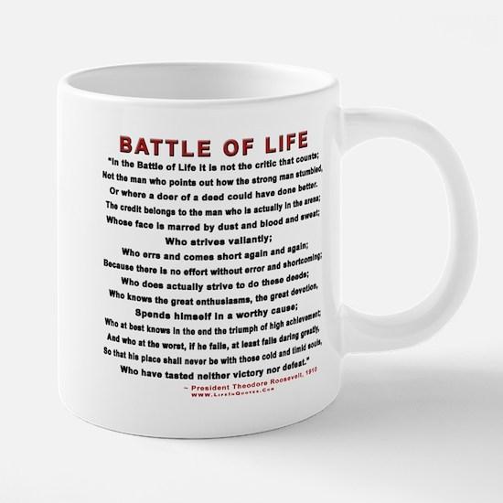 """Man in the Arena"" Mugs"