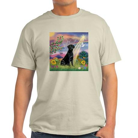 Cloud Angel & Black Lab Light T-Shirt