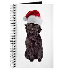 Affenpinscher Santa Journal