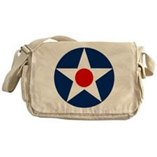 US Army Air Corps Roundel (1926) Messenger Bag