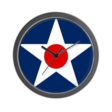 US Army Air Corps Roundel (1926) Wall Clock