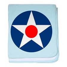 US Army Air Corps Roundel (1926) baby blanket