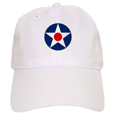 US Army Air Corps Roundel (1926) Cap