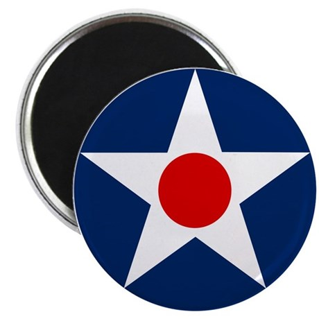 """US Army Air Corps Roundel (1926) 2.25"""" Magnet (100"""