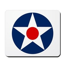 US Army Air Corps Roundel (1926) Mousepad