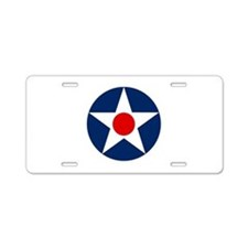 US Army Air Corps Roundel (1926) Aluminum License
