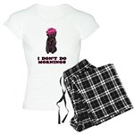 Affenpinscher Mornings Women's Pajamas