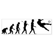 Viva La Evolucion De Futbol Car Sticker