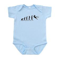 Viva La Evolucion De Futbol Infant Bodysuit