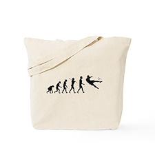 Viva La Evolucion De Futbol Tote Bag
