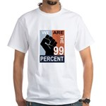 Occupy Poster White T-Shirt