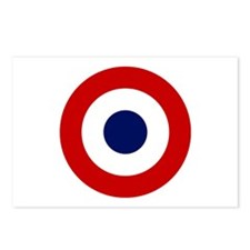 French Air Force Roundel Postcards (Package of 8)