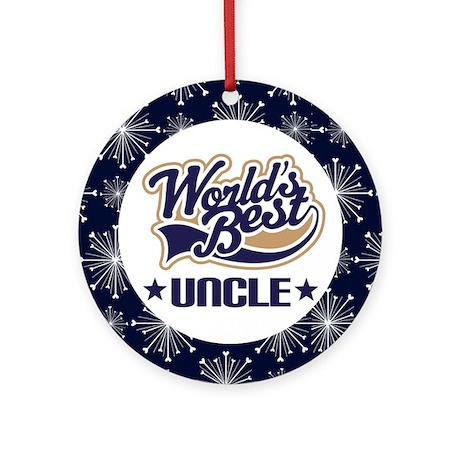 World's Best Uncle Ornament