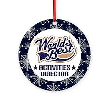 Activities Director Ornament (World's Best)