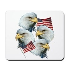 Eagles and Flags Mousepad
