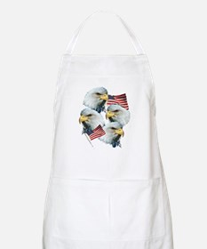 Eagles and Flags Apron