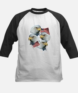 Eagles and Flags Tee