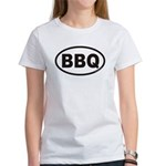 BBQ Euro Oval Women's T-Shirt