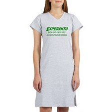 Esperanto Definition Women's Nightshirt