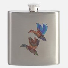 COLORFUL FLOCK Flask