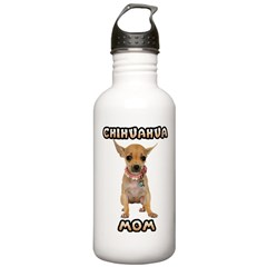 Chihuahua Mom Water Bottle