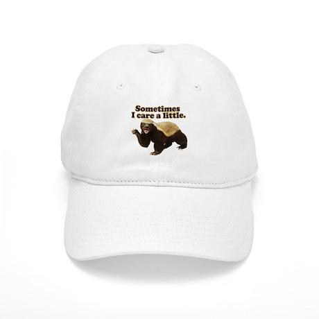 Honey Badger Sometimes I Care Cap
