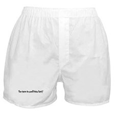 Cool Poot Boxer Shorts