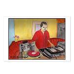 El DJ Booth Postcards (Package of 8)