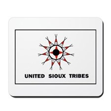 United Sioux Tribes Flag Mousepad