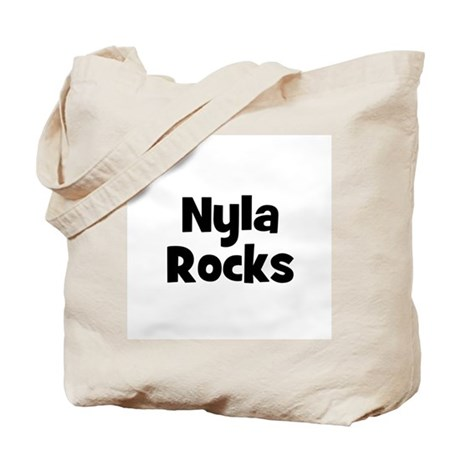 Nyla Rocks Tote Bag
