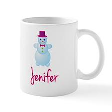 Jenifer the snow woman Mug