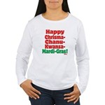Happy HCCKMG! Women's Long Sleeve T-Shirt