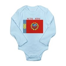 Altai Krai Long Sleeve Infant Bodysuit