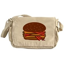 Bacon Triple Cheese! Messenger Bag