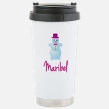 Maribel the snow woman Travel Mug