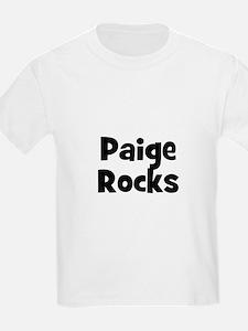 Paige Rocks Kids T-Shirt